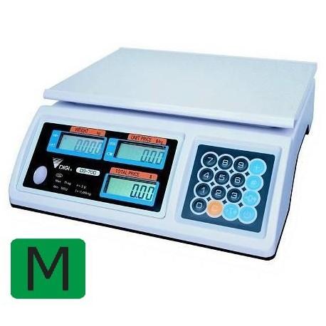 DiGI waga kontrolna DS-676DR 6/15kg